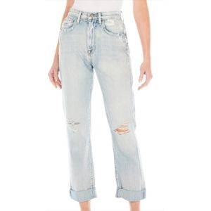 NWT Fidelity Denim 'Day Off' High Rise Boyfriend